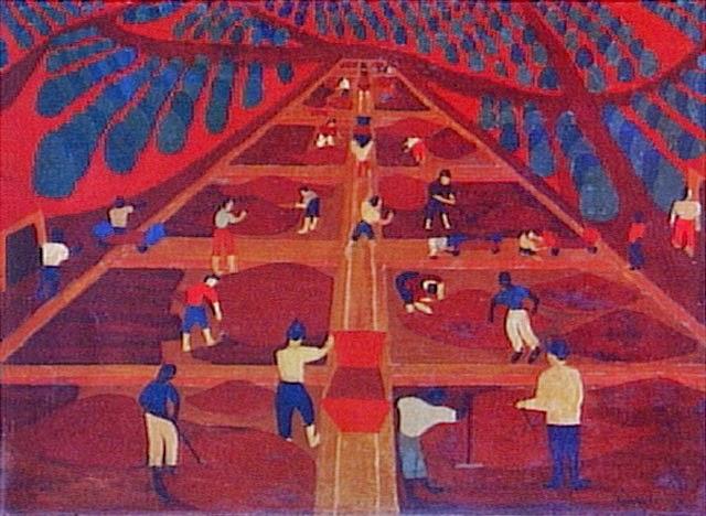 Cafezal, Djanira (1952) [Coleção Gilberto Chateaubriand - MAM RJ]