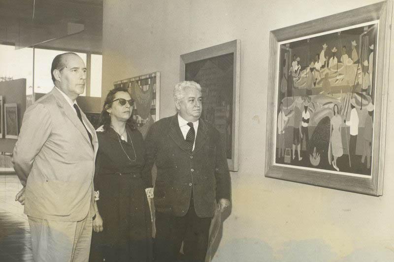 Roberto Rossellini, Djanira e Di Cavalcanti