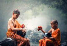 criancas budistas