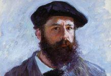 monet: Self Portrait with a Beret 1886