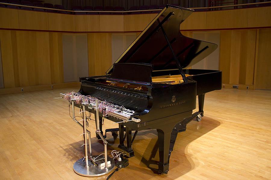 Cloud Piano: David Bowen