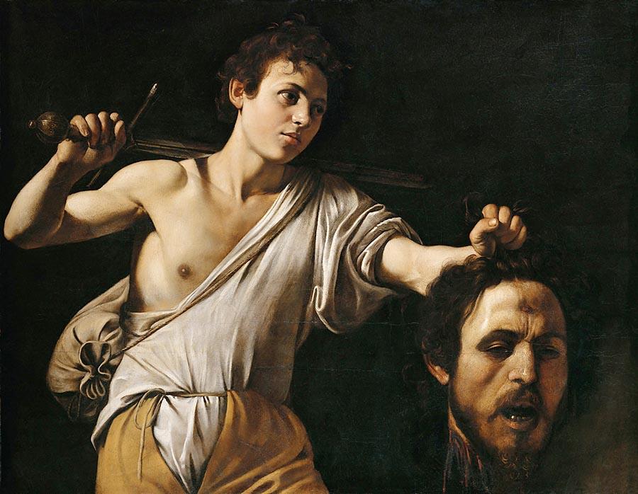 Caravaggio_ David com a cabeça de Golias -Arteref