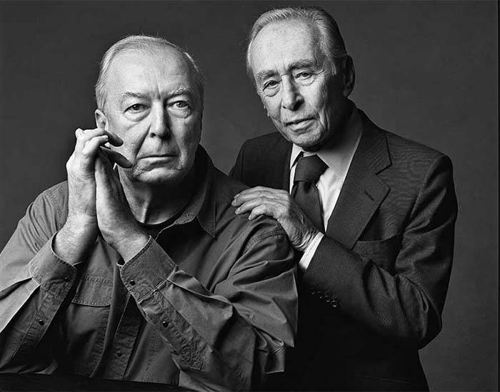 Leo Castelli e Jasper Johns