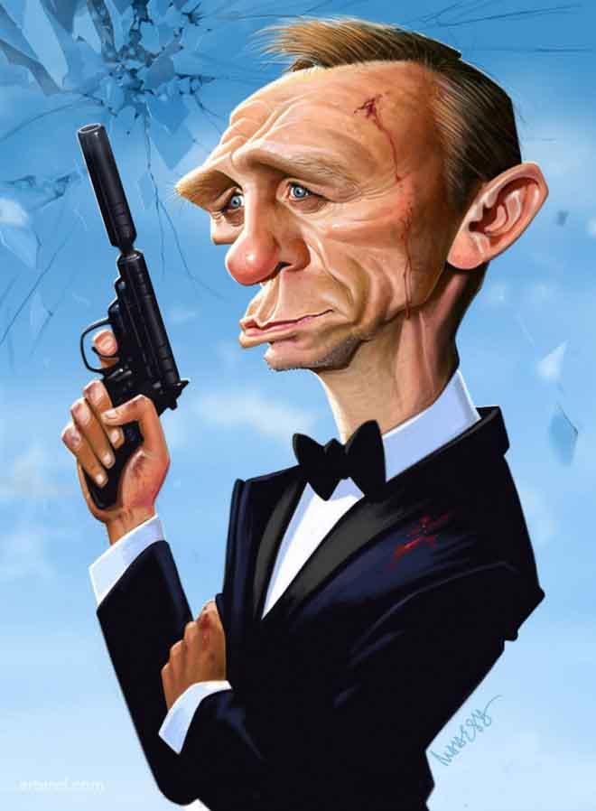 Daniel-craig-caricature-by-mahesh
