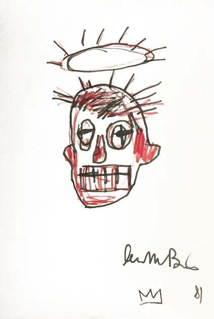 Basquiat's signature