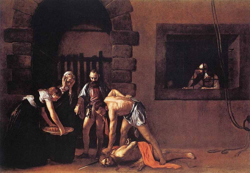 Beheading-of-Saint-John-the-Baptist-caravaggio