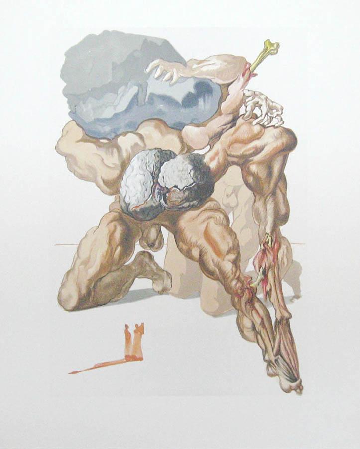 Inferno, Salvador Dali