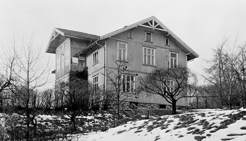 Casa de Edvard Munch em Ekery