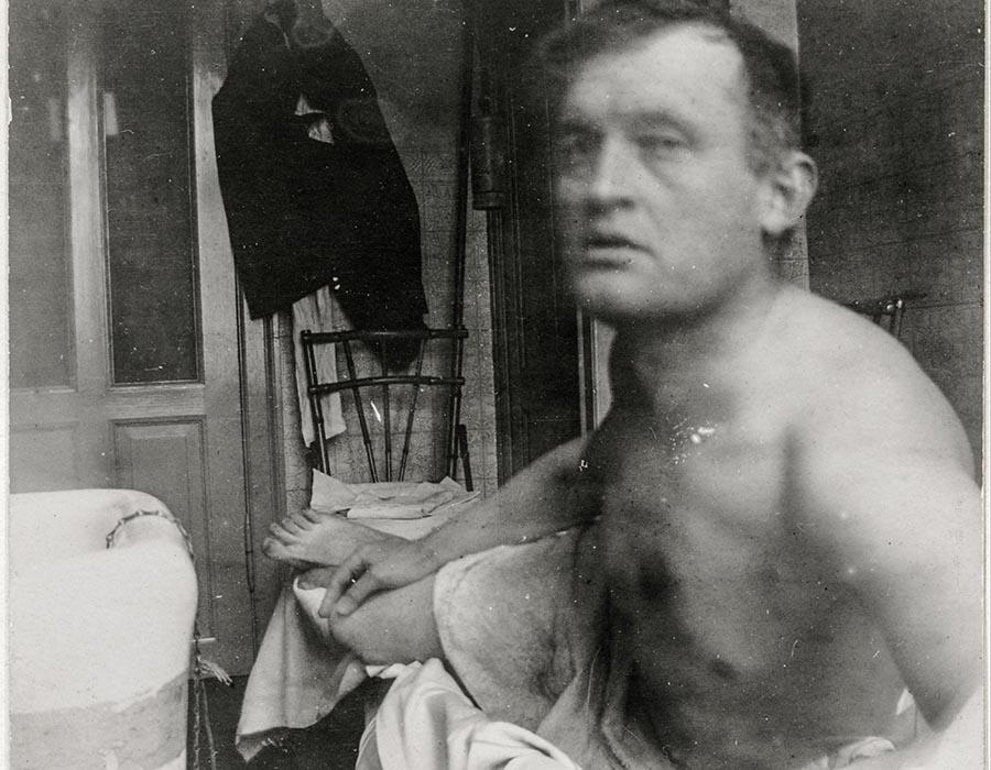 "Self-Portrait ""à la Marat"", setembro 1908"