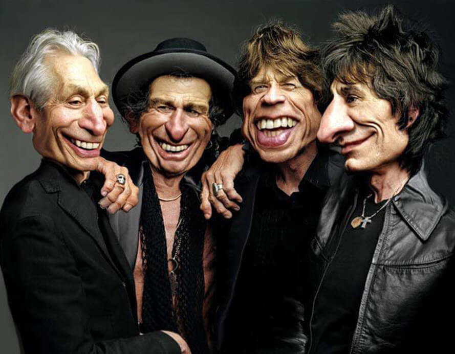 Rolling-Stones-Caricatura-Rodney-Pike-
