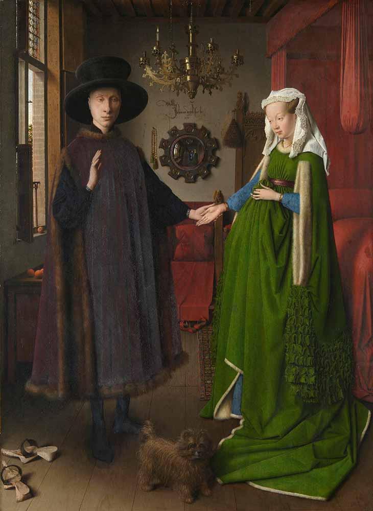The-Arnolfini-Marriage-painting