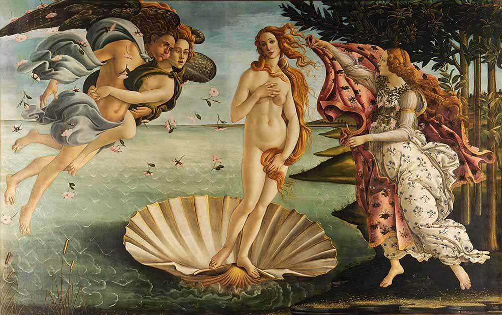 The-Birth-of-Venus-Painting