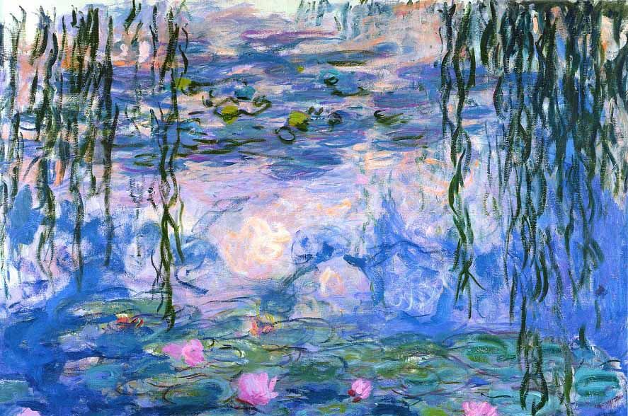 Water-lilies-by-Claude-Monet