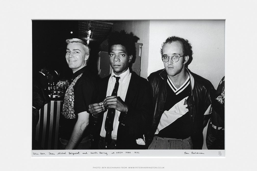 John Sex, basquiat and Keith Harring