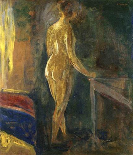 Edvard Munch - Permanente nu