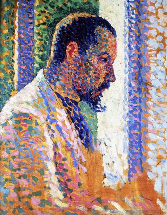 Retrato de Paul Signac