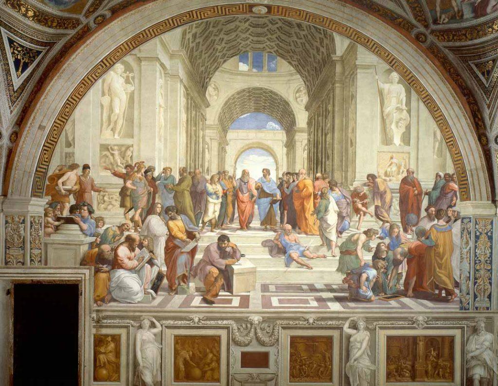 school-of-athens-raphael-painting
