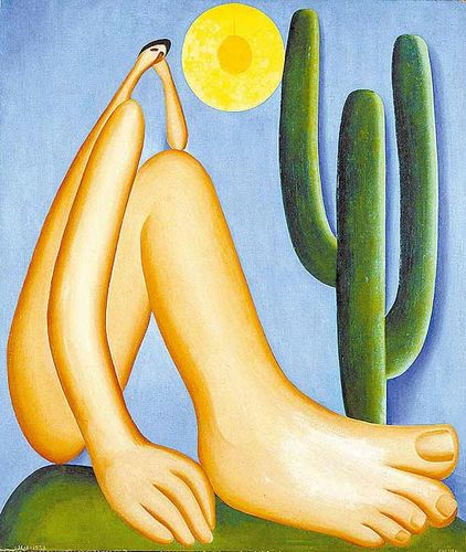 Tarsila do Amaral - Abaporu (1929)