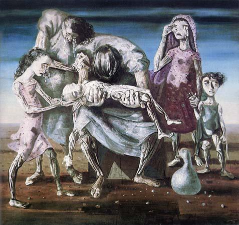 candido portinari; Criança Morta, 1944