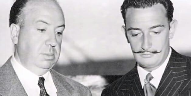 Dali e Alfred Hitchcock