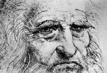 Leonardo da Vinci auto retrato