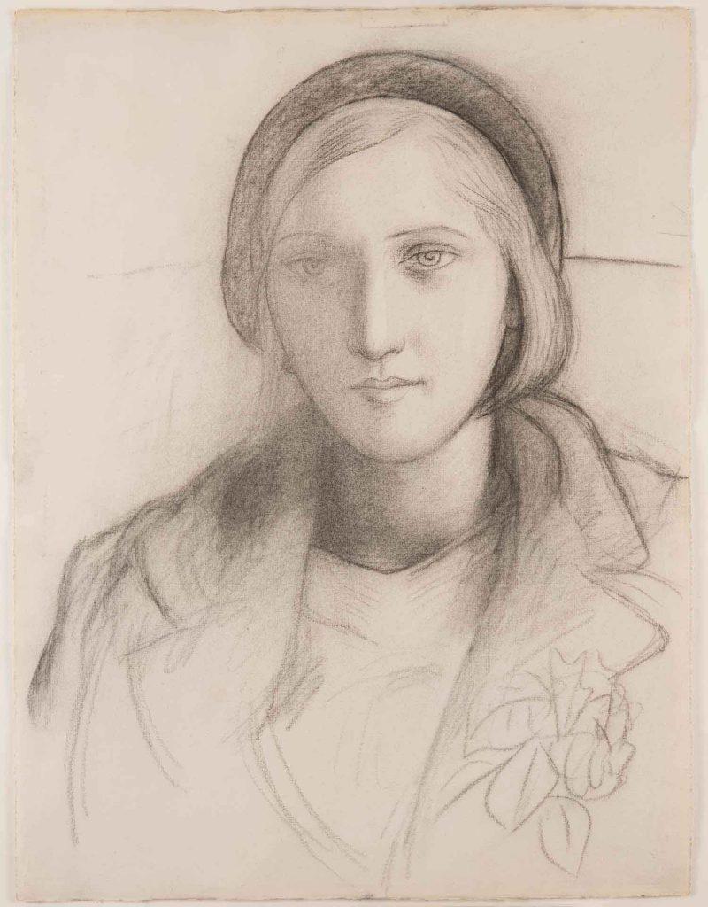 Retrato desenhado por Picasso deixa evidente sua admiração pela jovem amante francesa.