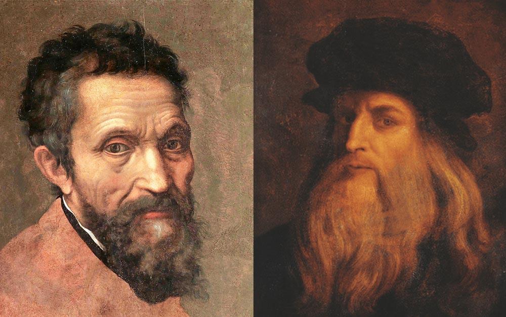 Michelangelo x Da Vinci