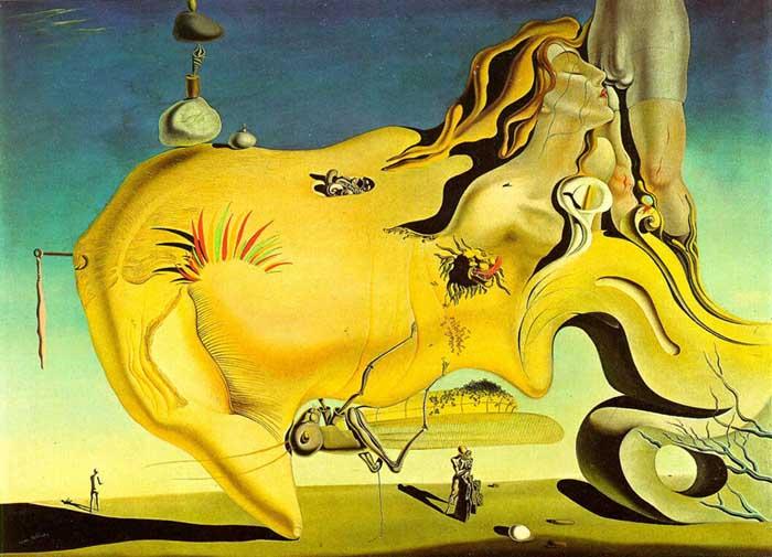 surrealismo; Salvador Dalí. O Grande Masturbador (1929) | Museu Nacional Centro de Arte Reina Sofia