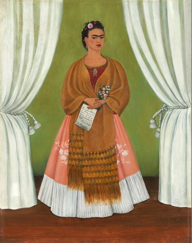 Self Portrait (1937) frida kahlo