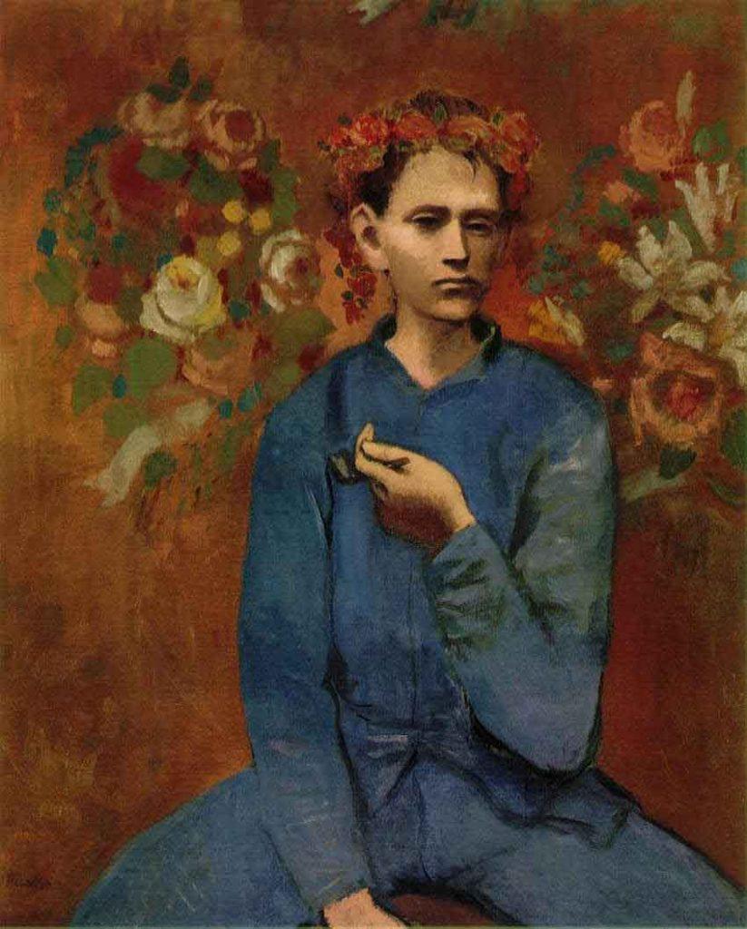 Garçon à la Pipe, 1905, fase rosa de Pablo Picasso