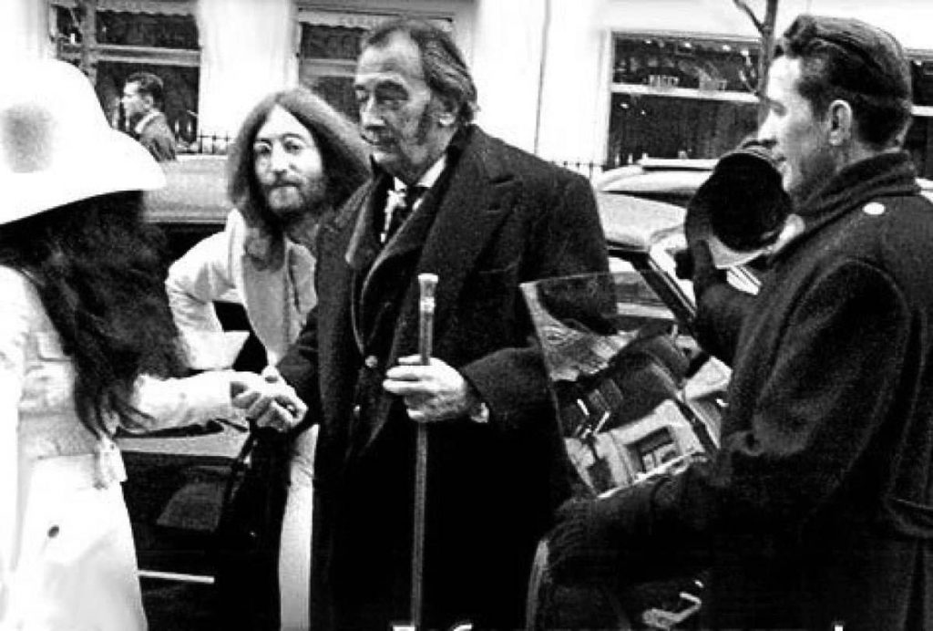 Lennon, Yoko e Dali em New York