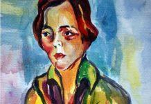 A Estudante de Anita Malfatti (detalhe)