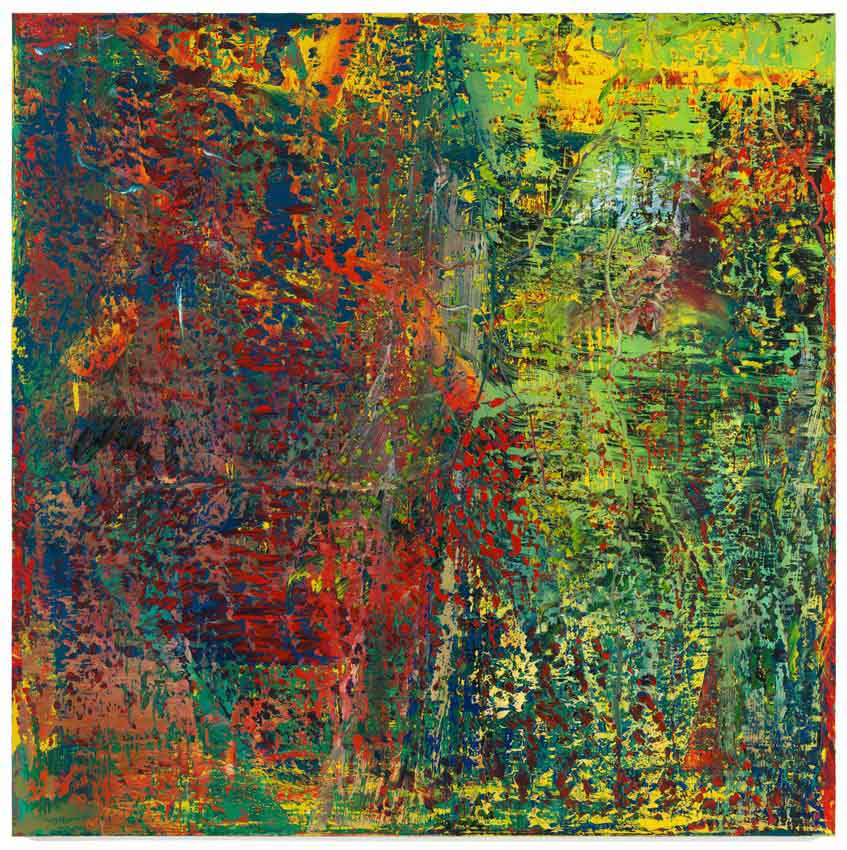 Abstraktes Bild - Gerhard Richter