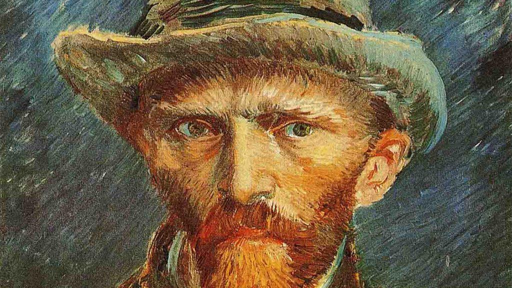 Auto-retrato-Van-Gogh-detalhe