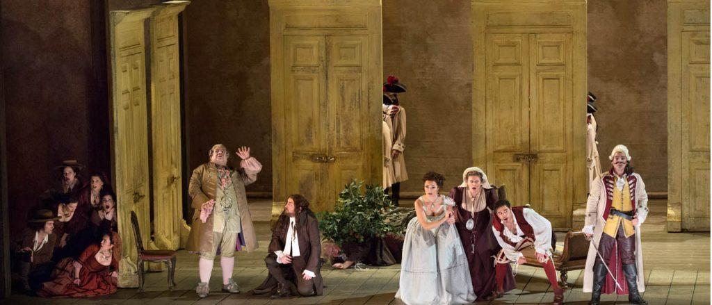 Encenação do Barbeiro de Sevilha de Rossini