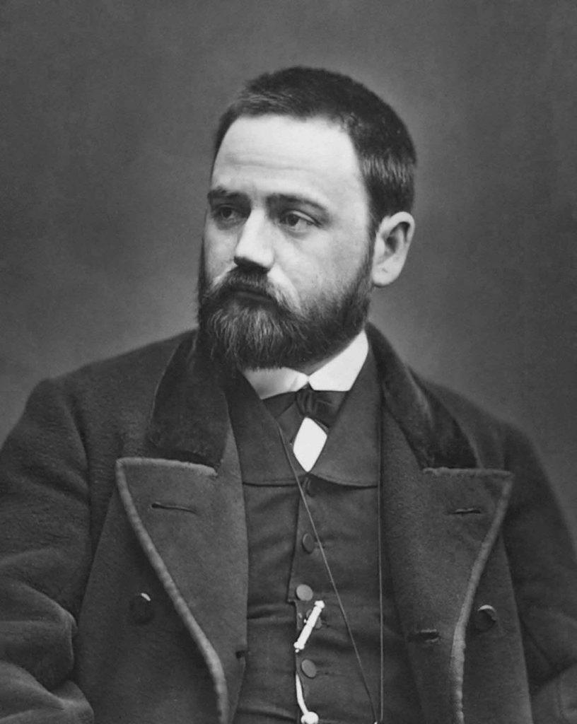 Émile Zola jovem.