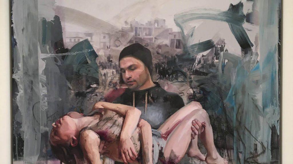 Jenny Saville artistas vivos