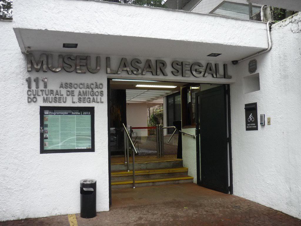 Museu Lasar Segall frente hoje