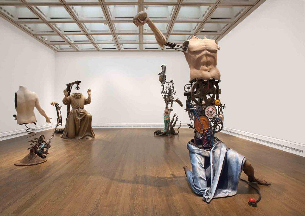 Obras de Michael Landy integrante da Young British Artists