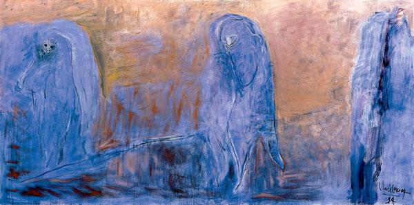 Solidão (1994), de Iberê Camargo