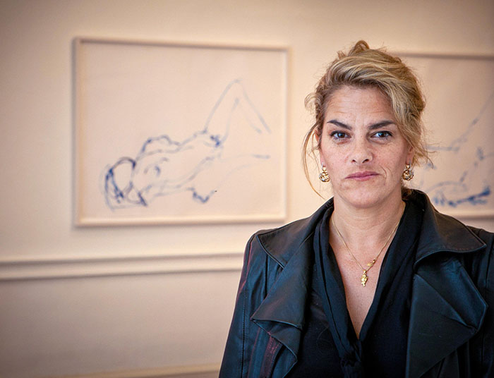 Tracey Emin Artist. Image shot 2012. Exact date unknown.