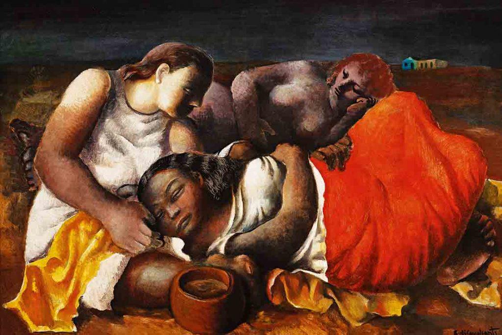 Emiliano Di Cavalcanti - 1938 - óleo sobre tela, 116x81 cm
