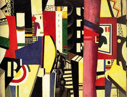 cubismo; Fernand Léger; A cidade (1919)