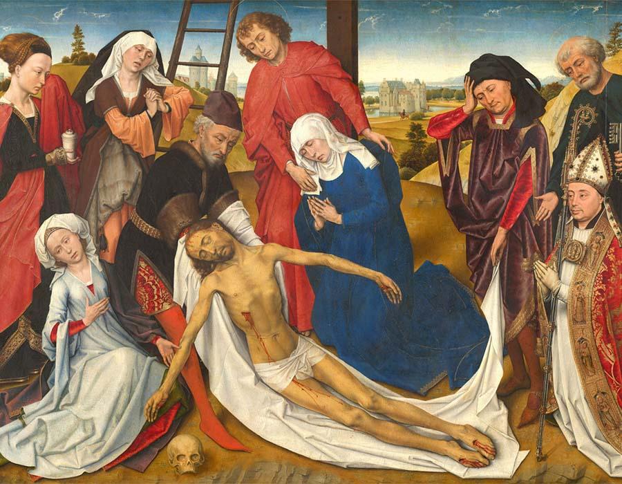 A lamentação de Cristo (1460)