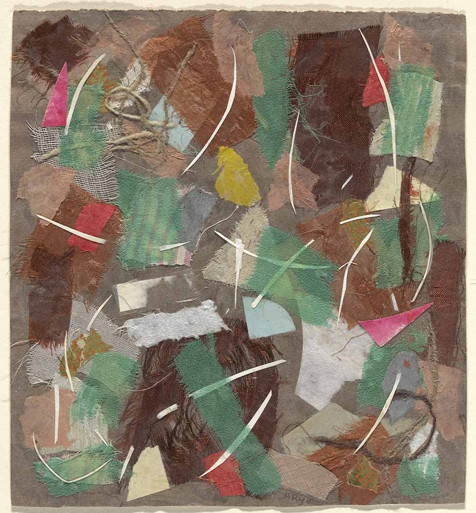 Anne Ryan, Collage, 353 (1949)