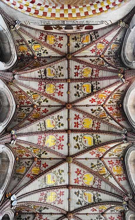 pattern; Catedral de São Albano (Inglaterra)