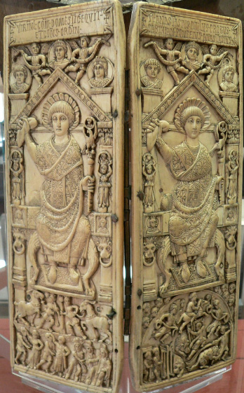 arte bizantina; Díptico de Flavius Anastasius Probus