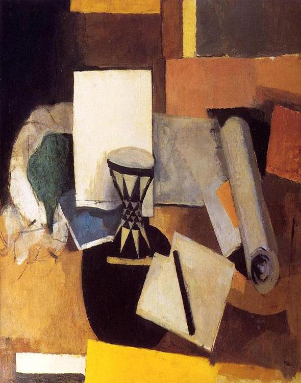 cubismo; Roger de la Fresnaye; Diabolo (1914)