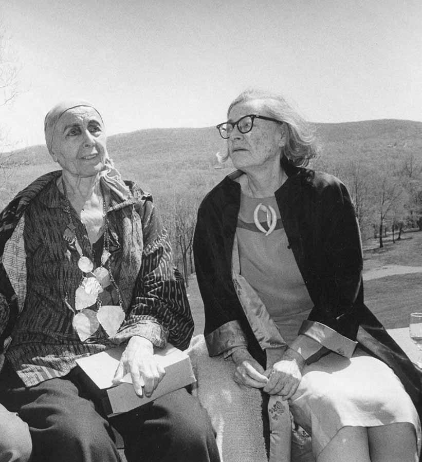 Dorothy Dehner e Louise Nevelson