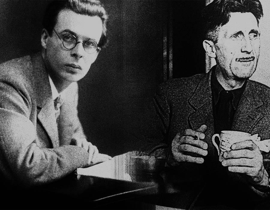 Huxley e Orwell
